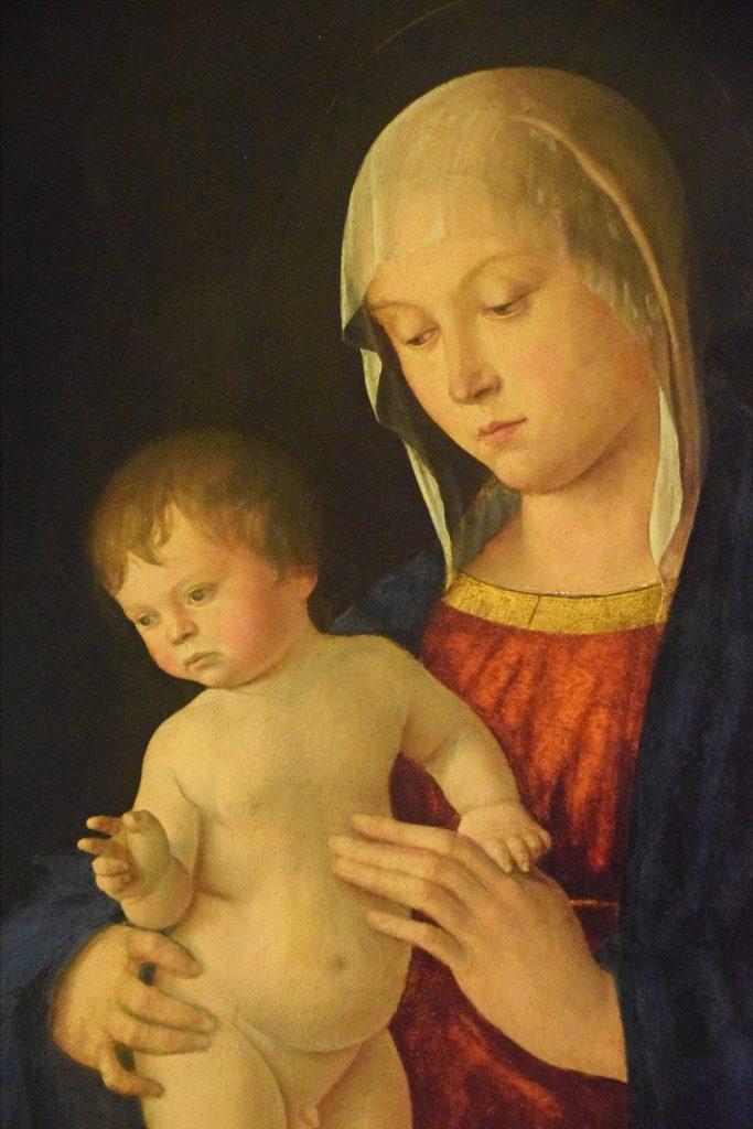 Madonna and Child, Giovanni Bellini, c1480-1485,Kelvingrove Museum, Glasgow, Scotland
