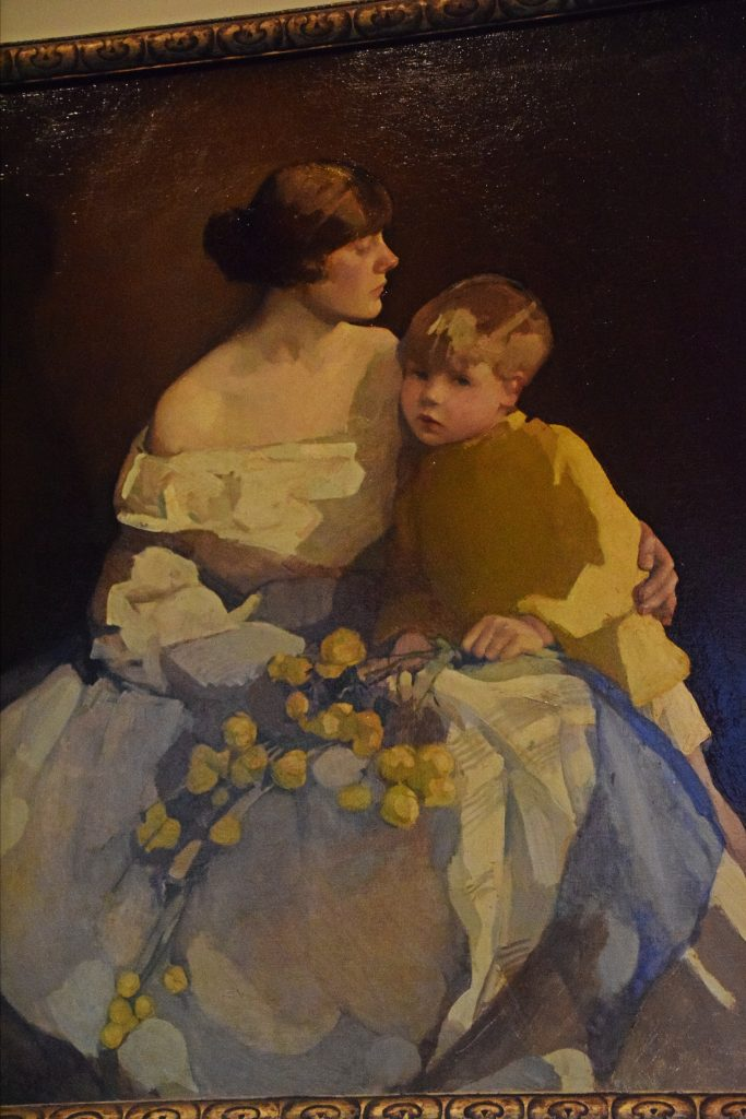 Little Brother, 1920/2, Norah Neilson Gray, Kelvingrove Museum, Glasgow, Scotland