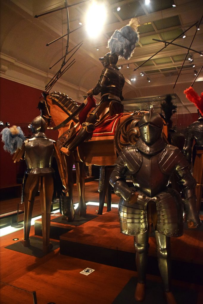 Armour in Kelvingrove Museum, Glasgow, Scotland