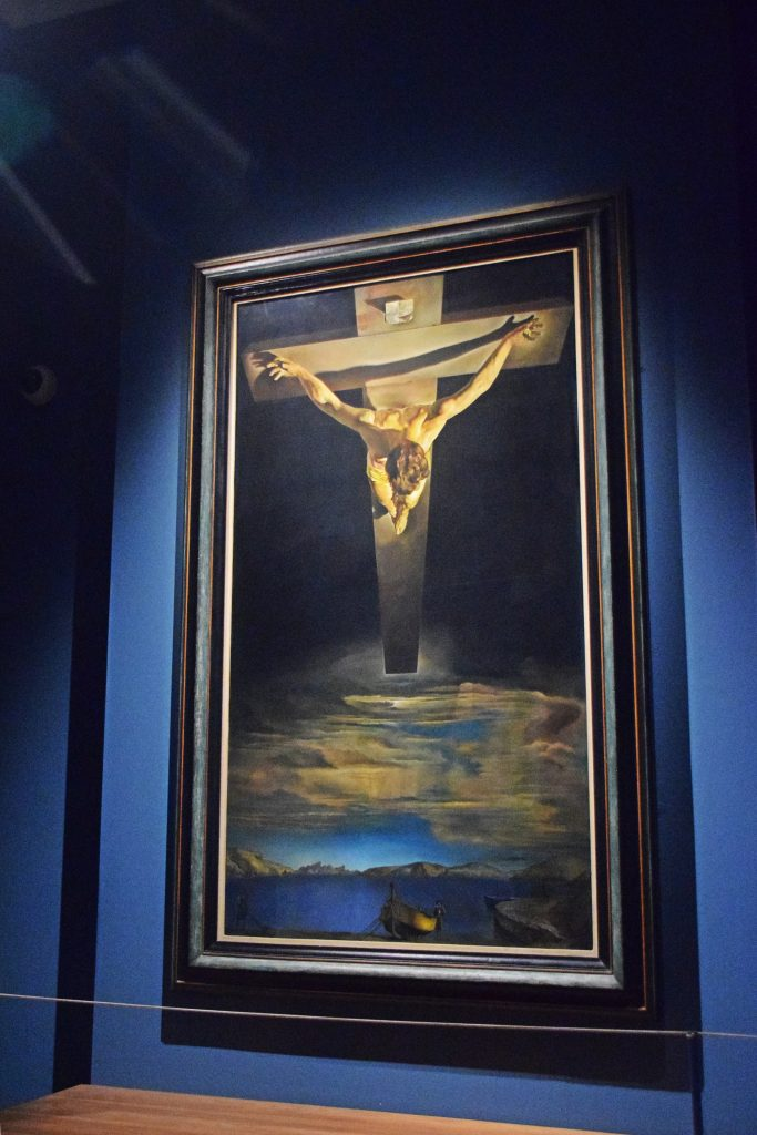 Christ of St John of the Cross, 1951, Salvador Dali, Kelvingrove Museum, Glasgow, Scotland