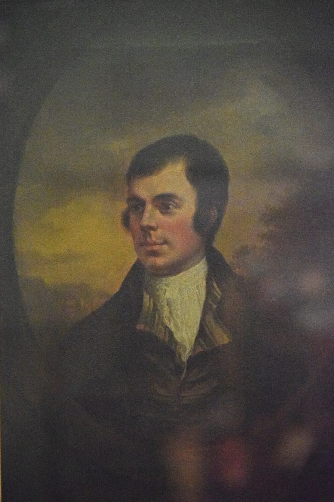 "Robert Burns, ""Auchendrane Portrait"", 18th century, Alexander Nasmyth, Kelvingrove Museum, Glasgow, Scotland.  Nasmyth was a friend of Burns and this is one of the few contemporary portraits in existance."