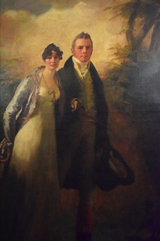 Mr and Mrs Campbell, c1806-10, Henry Raeburn,Kelvingrove Museum, Glasgow, Scotland