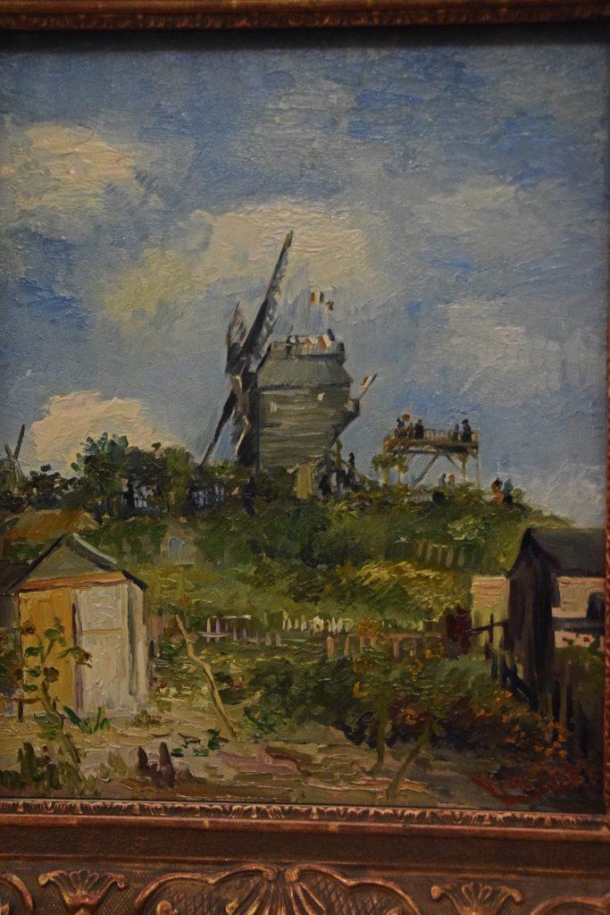 The Blue-Fin Windmill, Montmartre, 1886, Vincent van Gogh,Kelvingrove Museum, Glasgow, Scotland