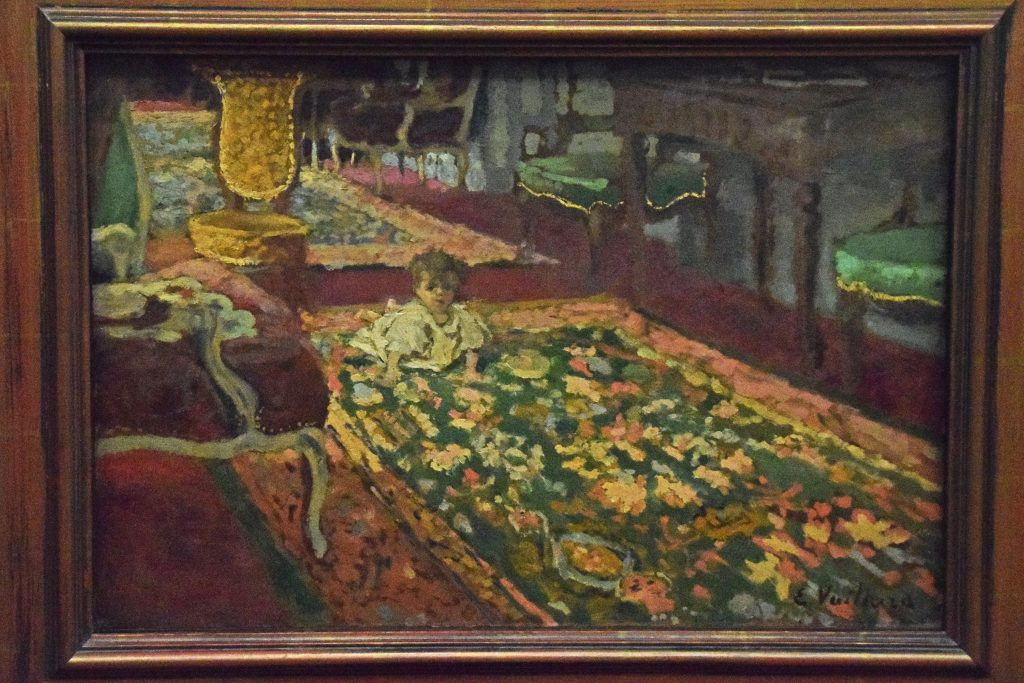 Interior - the Drawing Room, 1901, Edouard Vuillard, Kelvingrove Museum, Glasgow, Scotland
