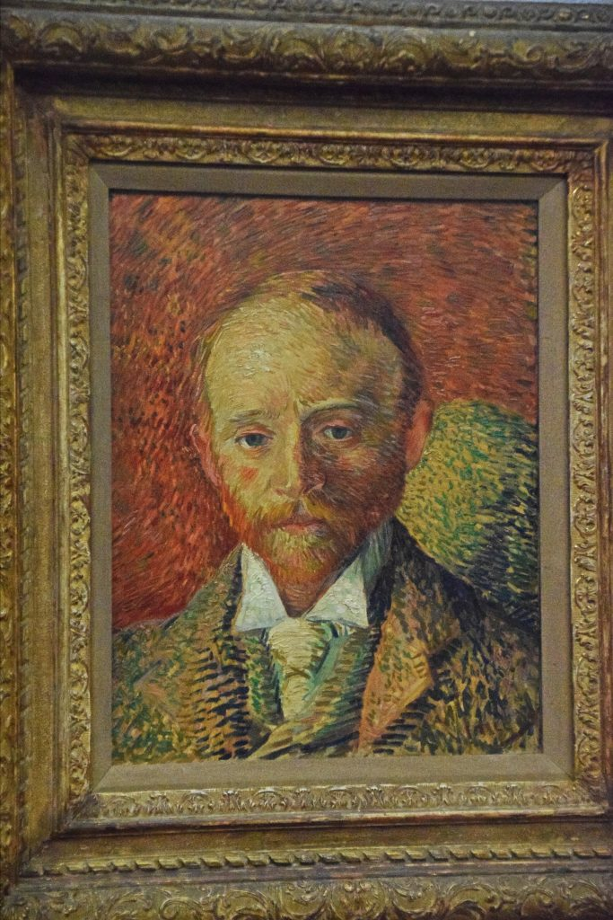 Alexander Reid, 1887, Vincent van Gogh, Kelvingrove Museum, Glasgow, Scotland. He was a young Glasgow art dealier who shared a flat in Paris with van Gogh for a few months in 1887.