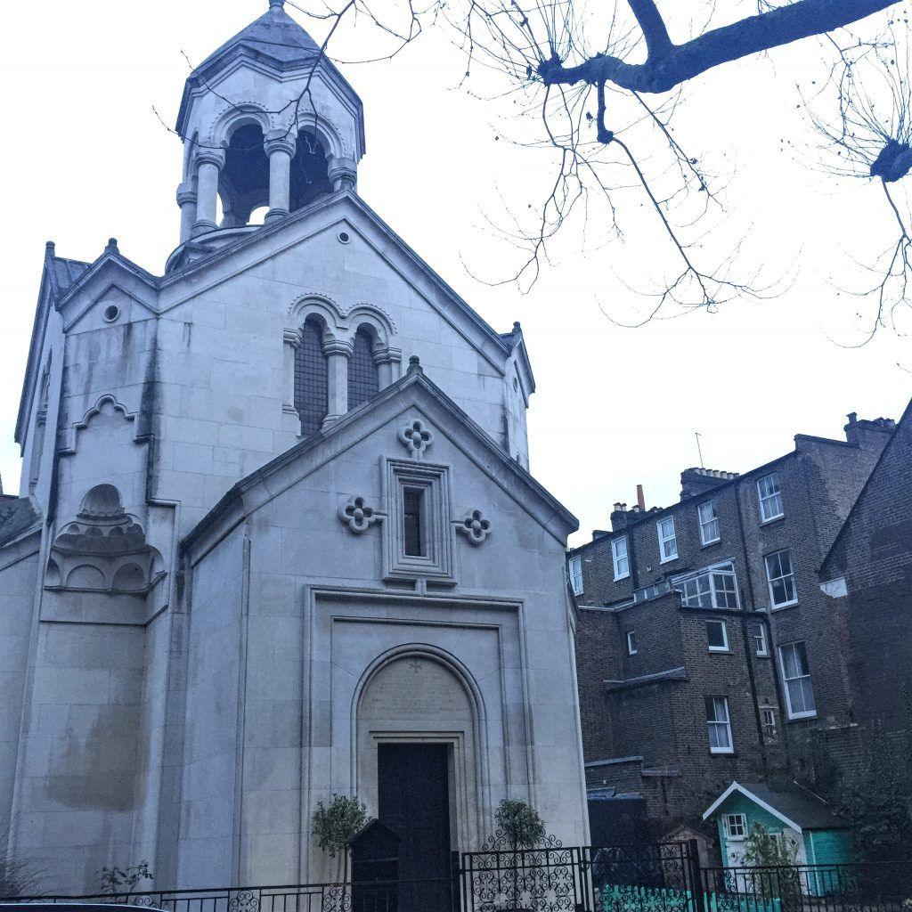 St Sarkis Church, Iverna Gardens, Kensington, London, England